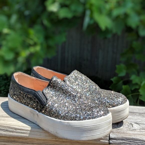 Target Sparkle Platform Sneakers